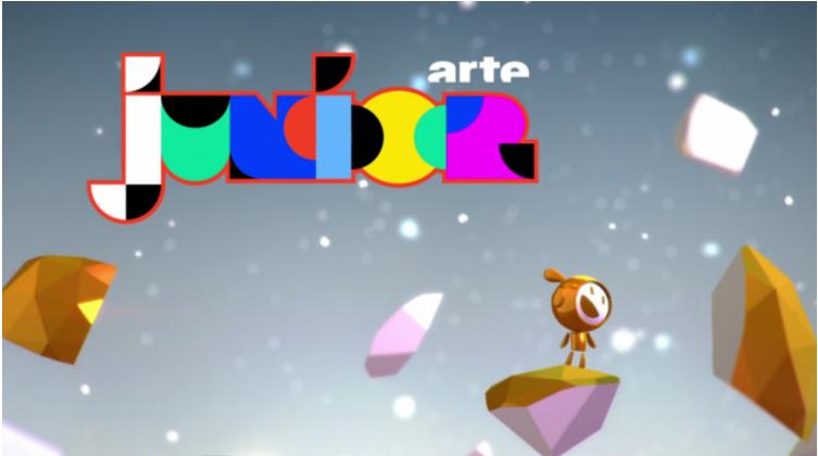 为Arte少儿节目(法德电视频道)通过Unity制作的字母标题